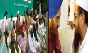 Hafiz Muhammad Saeed, Gopal Singh Chawla, Appear in the same picture