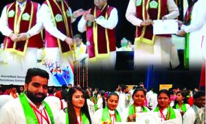 Gold Medalist, Six Students, Shah Satnam Ji Institute