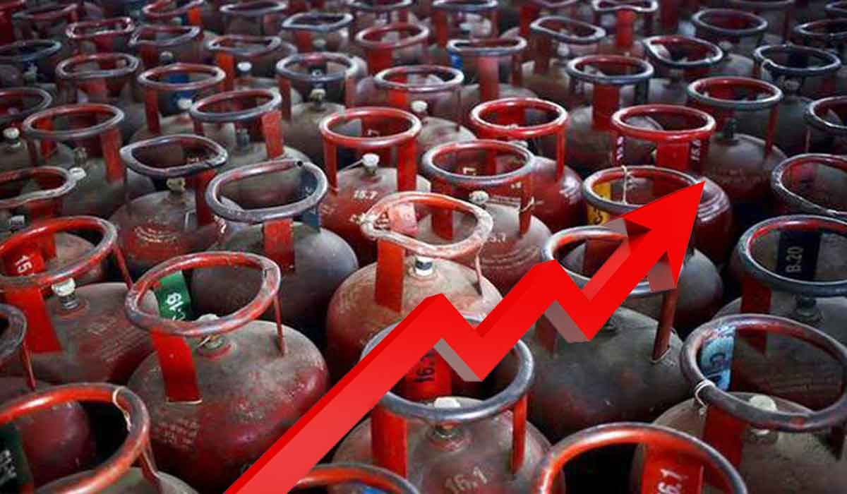 LPG cylinder becomes expensive