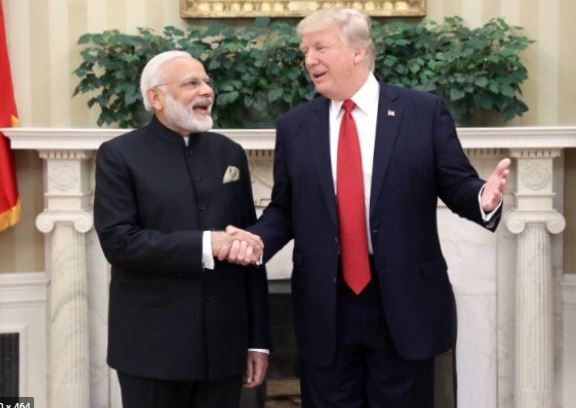 Trump Honors Modi